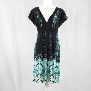 Speechless Midi length silky jersey  dress Size L